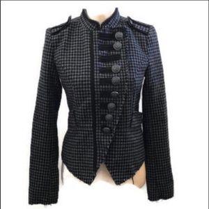 BKE tweed military jacket